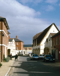 Poundbury, Dorchester, Great Britain